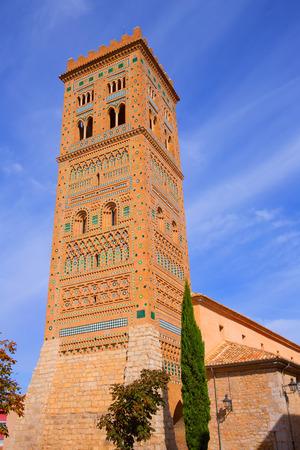 torre: Aragon Teruel Torre de San Martin Mudejar UNESCO heritagein Spain