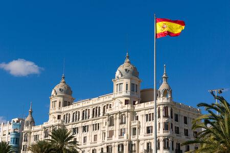 buiding: Alicante Explanada de Espana casa Carbonell buiding in Spain