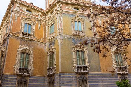 ignacio: Valencia Palacio Marques de Dos Aguas palace facade in alabaster at Spain