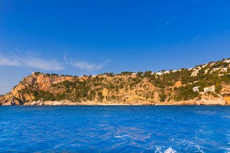 costa blanca: Javea playa Ambolo caleta Figuera Xabia in Alicante Mediterranean Spain