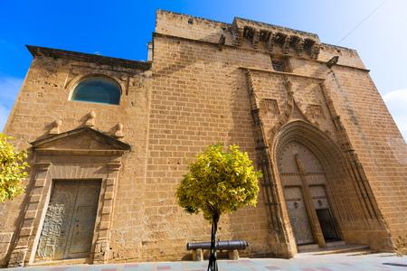 costa blanca: Javea Xabia Sant Bertomeu church in Alicante Spain