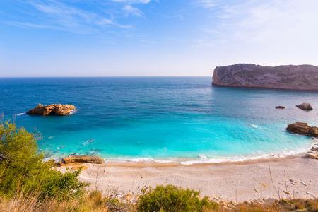 playa blanca: Javea Playa Ambolo beach Xabia in Mediterranean Alicante Spain