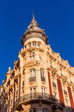 Cartagena the Grand Gran Hotel Art Noveau architecture in Murcia Spain Editorial