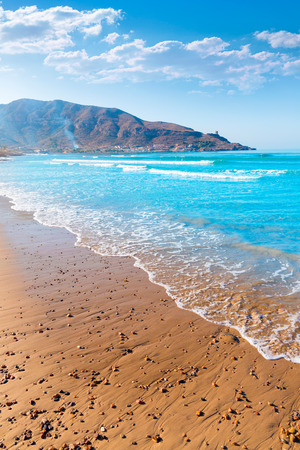 tourquoise: La Azohia beach Murcia in Mediterranean sea Spain