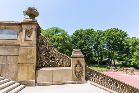 bethesda: Central Park Bethesda Terrace stairway New York US