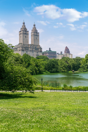 central park: Central Park The Lake Manhattan New York US