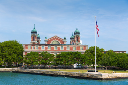 ellis: Ellis Island Immigration Museum Jersey city New York US