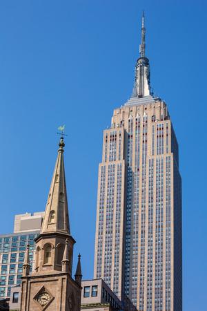 empire state building: Empire State Building in Manhattan New York City USA