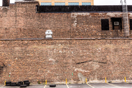 New York Manhattan grunge brick wall brickwall texture US