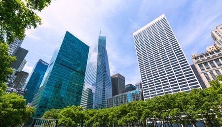 New York City Manhattan Bryant Park NYC centrum USA Stockfoto