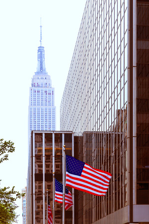 av: Manhattan 8th Av New York city downtown NYC US