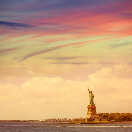 Statue of Liberty New York American Symbol USA US 版權商用圖片