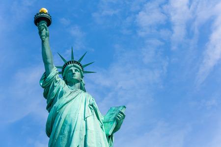 Freiheitsstatue New York amerikanischen Symbol USA USA Lizenzfreie Bilder