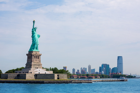 statue: Statue of Liberty New York Manhattan background USA US