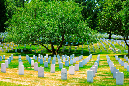 cremation: Arlington National Cemetery Virginia VA near Washington DC United States Editorial
