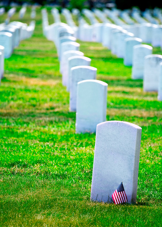 military cemetery: Arlington National Cemetery Virginia VA near Washington DC United States Editorial