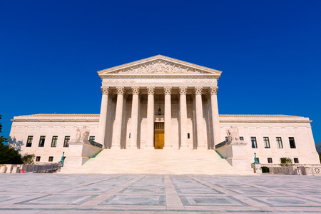 Supreme Court of United states building in Washington DC Banco de Imagens - 36931536