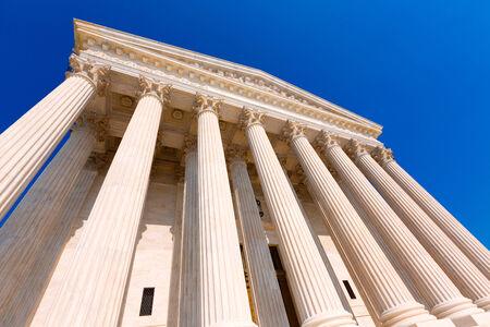 supreme court: Supreme Court of United states building in Washington DC
