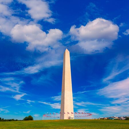 district of columbia: Washington Monument in District of Columbia DC USA