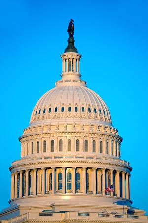 white house: Capitol building dome Washington DC USA US congress