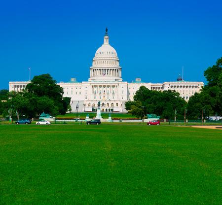capitol building: Capitol building Washington DC sunlight day USA US congress
