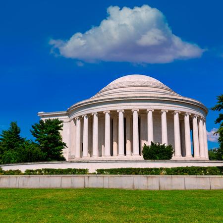 thomas: Thomas Jefferson memorial in Washington DC USA
