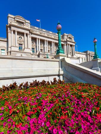 jefferson: Library of Congress Thomas Jefferson building in Washington DC USA