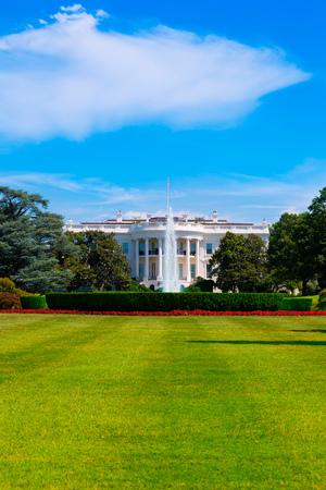 casa blanca: La Casa Blanca en Washington DC EE.UU. Estados Unidos Foto de archivo