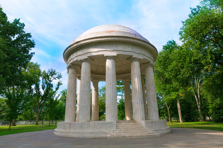 district columbia: DC District of Columbia War Memorial in Washington US USA Stock Photo