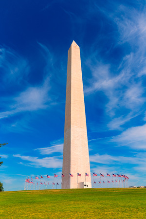 Washington Monument in District of Columbia DC USA