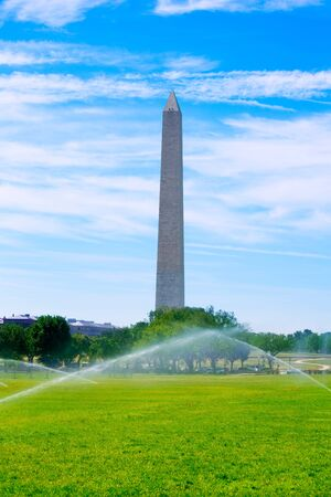 district columbia: Washington Monument in District of Columbia DC USA