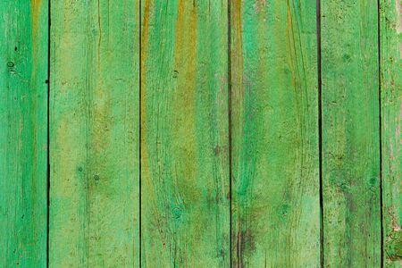 green door: Alcudia Old Town aged green door wood texture Mallorca Balearic island of Spain Stock Photo