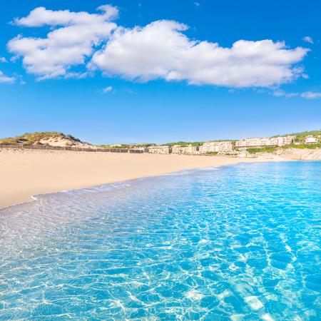 Plage de Majorque Cala Mesquida à Majorque Iles Baléares d'Espagne