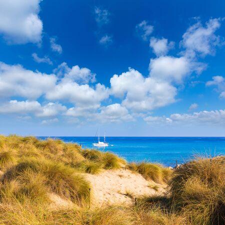 Majorca Cala Mesquida beach in Mallorca Balearic Islands of Spain photo