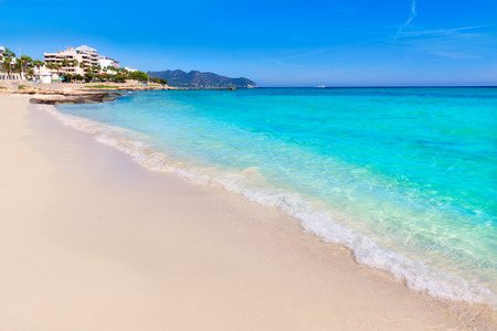 Majorca Cala Millor beach Son Servera Mallorca Balearic islands of Spain