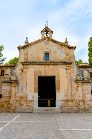 mediterraneo: Majorca esglesia del Calvari church in Pollenca Pollensa at Mallorca spain