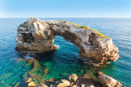 es: Majorca Es Pontas in Santanyi at Mallorca Balearic island of Spain