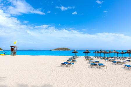 spain: Mallorca Magaluf Magalluf beach in Calvia Mallorca at Balearic islands of Spain