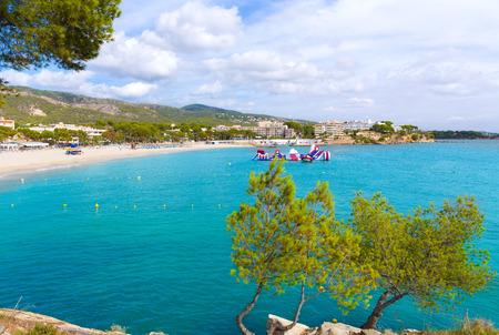 mediterraneo: Majorca Platja Palmanova Portonovo beach in Calvia Mallorca at Balearic islands of Spain