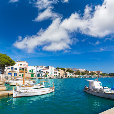 majorca: Majorca Porto Colom Felanitx port in mallorca Balearic island of Spain