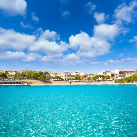 spain: Majorca Porto Cristo beach in Manacor of Mallorca Balearic island at spain