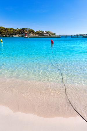 cristo: Majorca Porto Cristo beach in Manacor of Mallorca Balearic island at spain