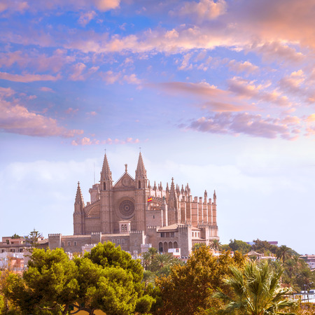 Palma de Mallorca Cathedral de la Seo Majorca Balearic Islands photo