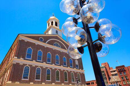 market hall: Boston Faneuil Hall marketplace in Massachusetts USA