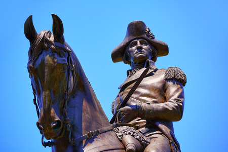 보스턴 일반적인 조지 워싱턴 기념물 매사 추세 츠 미국에서