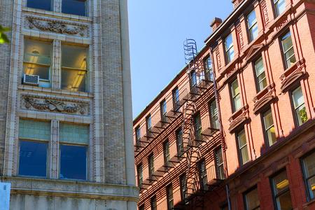 buidings: Boston Massachusetts downtown buidings cityscape in USA Stock Photo