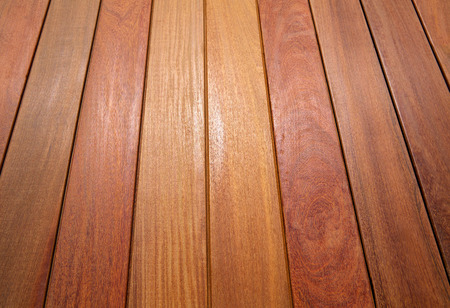 Ipe teak wood decking deck pattern tropical wood texture background Stok Fotoğraf