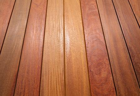 Ipe Teakholz Decking Deck Muster tropischen Holz Textur Hintergrund Lizenzfreie Bilder