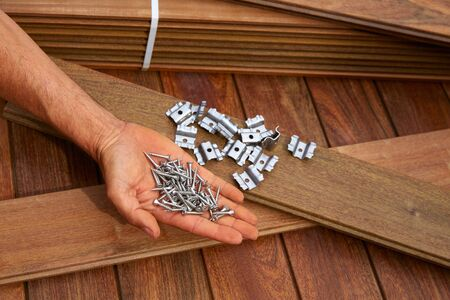 fasteners: Ipe decking deck wood installation screws clips and fasteners