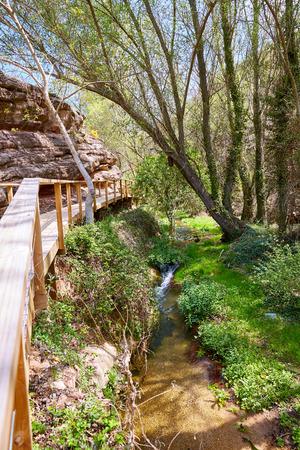 humo: Cuenca Villar del Humo village river Vencherque in Spain